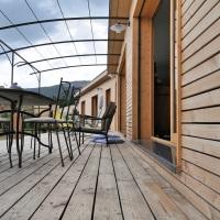 Maison en bois équipée selon les principes de biocompatibilité